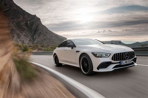 2019 Mercedes Amg Gt by 2019 Mercedes Amg Gt 4 Door Coupe Goes Live In Geneva