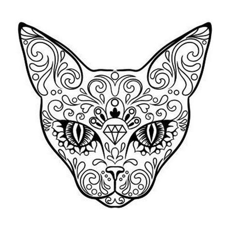 pattern cat tattoo pattern cat tattoo design