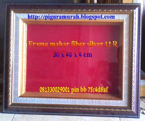 Bingkai Foto Fiber 30x40cm aneka pigura