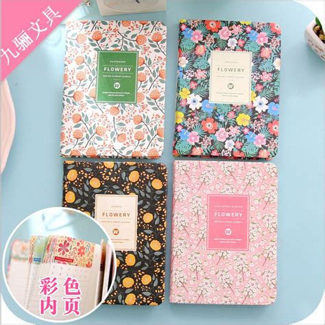 Agenda Note Book Flower Collection aliexpress buy 96page vintage floral flower weekly planner daily schedule book notebook