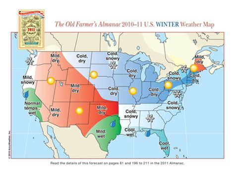 the old farmer s almanac 2013 weather predictions mild 2011 us winter rgb