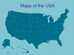 powerpoint us map template powerpoint maps of the usa