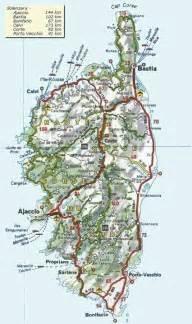 corsica map corsica corsica