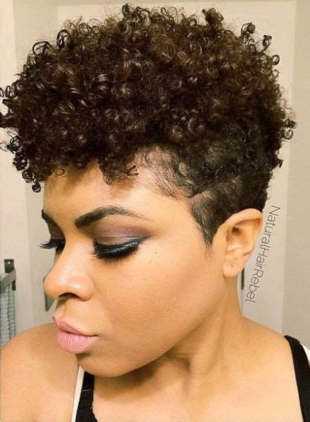 natual styles with tappered sides beautiful tapered cut and curls naturalhairrebel black