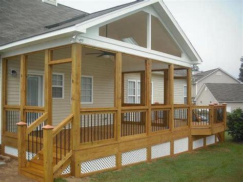 gable porch outdoor decor porches decks pinterest