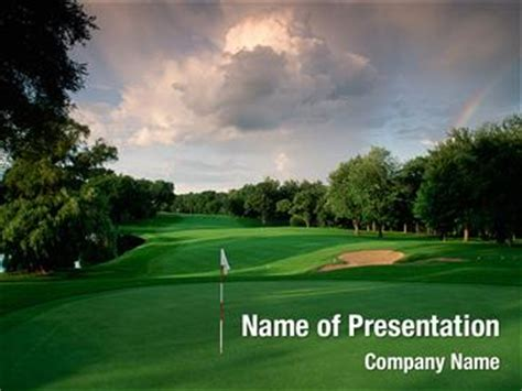 Golf Club Powerpoint Templates Golf Club Powerpoint Golf Powerpoint Template