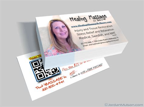 Therapy Business Cards