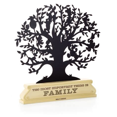 Top Online Home Decor Sites by Disney Family Tree Silhouette Decorative Accessories