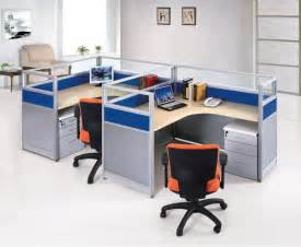 modern design high quality glass top modular office