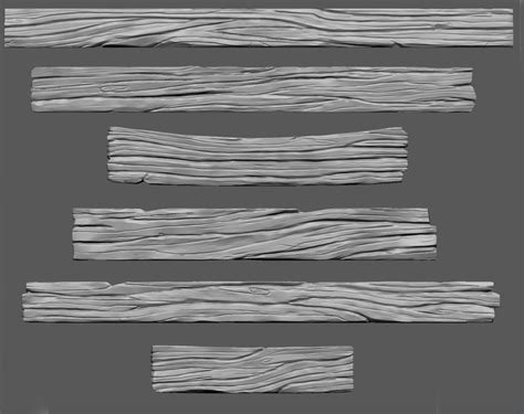zbursh wooden planks high poly wood sculpt personal stuff in 2019 wood zbrush sculpting