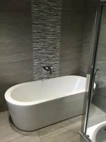 bathroom feature tiles ideas 25 best ideas about grey bathroom tiles on