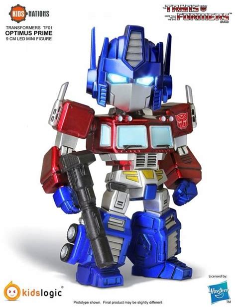 Nations Kidslogic Transformers logic transformers nations series tf01 set of 5