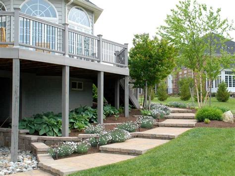 Landscape Ideas Around Deck Deck Landscaping This Deck Landscaping All Takes Pla