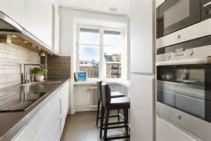 kitchen ideas functional solutions: functional long narrow kitchen ideas designs and cabinets