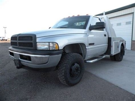 manual cars for sale 2002 dodge ram 3500 engine control purchase used 2002 dodge ram 3500 4x4 5 9 diesel regular cab 6 speed manual st flatbed dually in