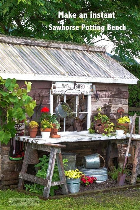 shed benches 407 best images about potting benches sheds on pinterest