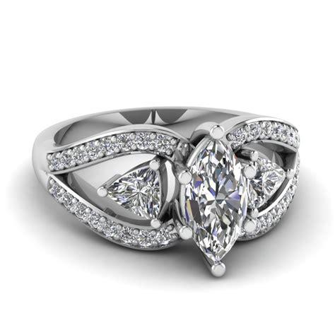 wedding rings marquise rings wedding