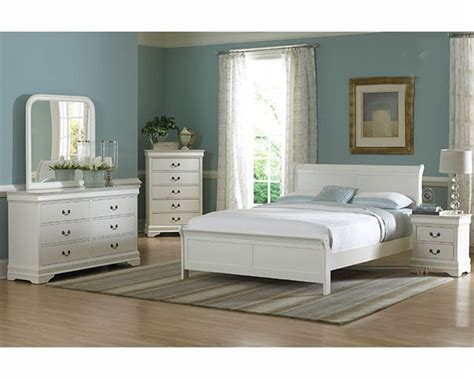 Next White Bedroom Furniture Homelegance Bedroom Set In White Marianne El539kw 1ckset