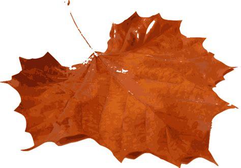 gallery for gt orange leaf clip art