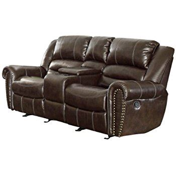 double reclining loveseat with console com homelegance 9668brw 2 double glider reclining