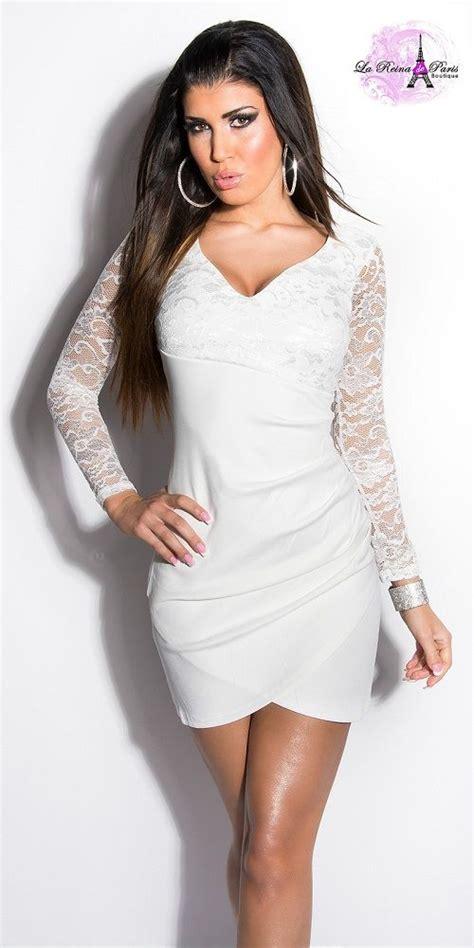 vestido de encaje blanco corto comprar vestido corto apuesto encaje blanco online