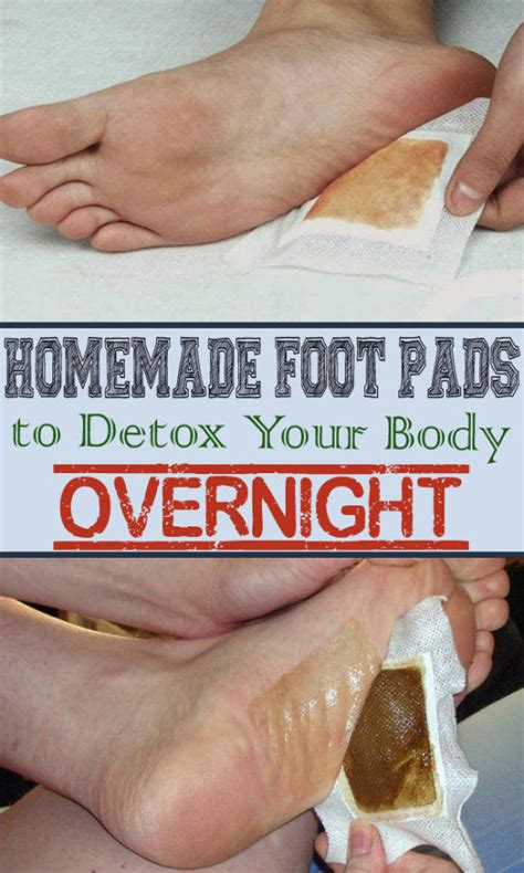 Diy Foot Detox At Home by Foot Pads To Detox Your Pictures Photos