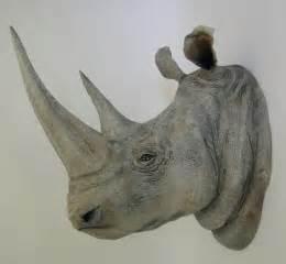 Floor To Ceiling Mirrors by Ed Koehler Designs White Rhino Heads