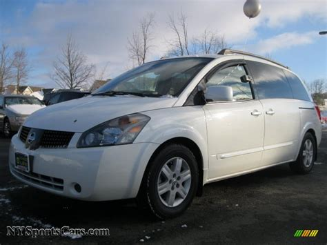 2005 nissan quest 2005 nissan quest 3 5 sl in nordic white pearl 119630
