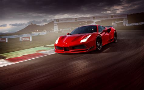ferrari 488 wallpaper ferrari 488 gtb n largo package 4k wallpapers hd