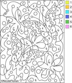 printable color by number free printable paint by numbers for adults coloring home