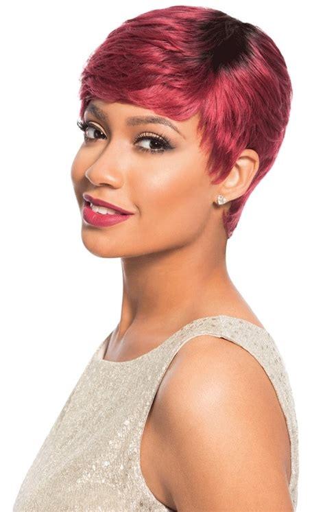 empire short hair sensationnel empire human hair celebrity series wig carey