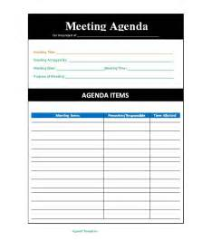 how to create a meeting agenda template 46 effective meeting agenda templates template lab