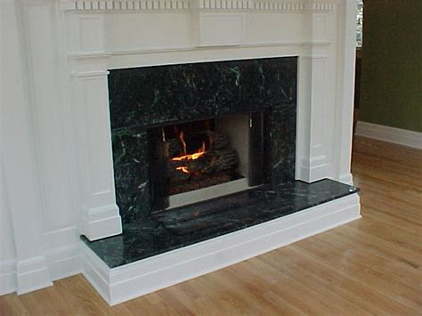 Green Marble Fireplace Makeover by Rock Tops Christchurch Granite Marble Engineered
