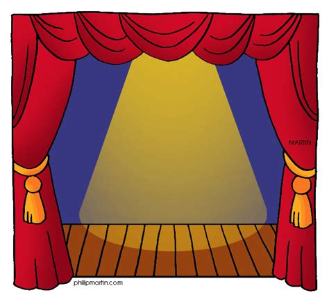 play theater stage clip art chirnsyde primary school