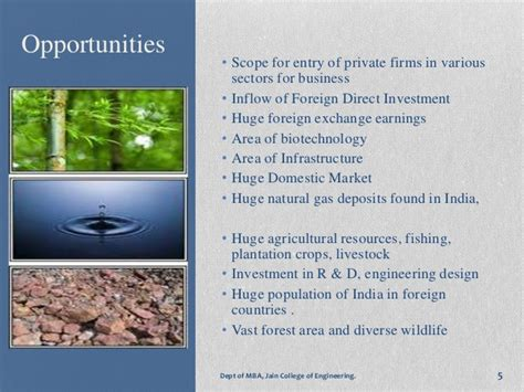 Opportunities After Mba In Biotechnology by Swot Analysis Of Indian Economy
