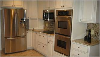 Kitchen Cabinet Unfinished double oven cabinet size home design ideas