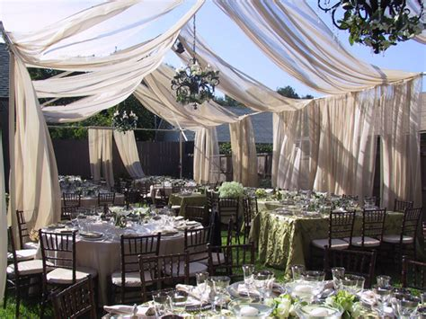 backyard wedding tent outdoor wedding decor ideas 187 pb jacksonville
