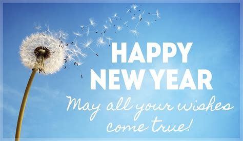 new year ecard new year wishes come true ecard free new year cards