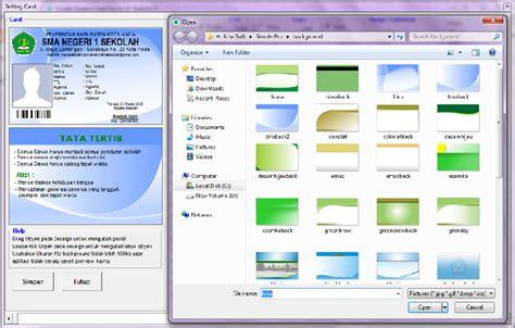 Software Untuk Membuat Kartu Nama Id Card simple student card pro v 1 8 ichasoft software kartu