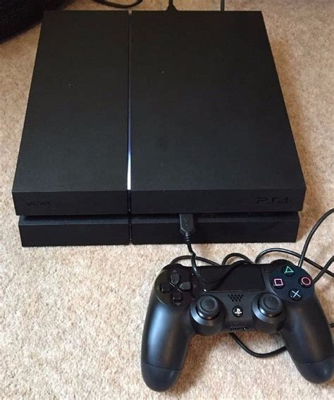 used ps4 console ps4 console used in condition with 1x official black