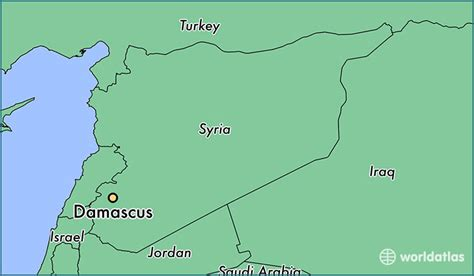 damascus on a map where is damascus syria damascus dimashq map