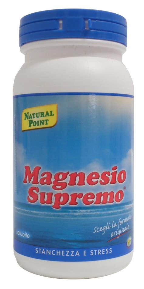 magnesio supremo polvere magnesio supremo polvere utile in caso di stanchezza e