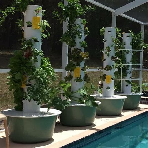 garden tower vertical container garden 17 best ideas about tower garden on grow tower
