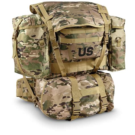 us backpack u s surplus pack with frame new 661396