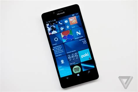 Review Microsoft Lumia microsoft lumia 950 review the verge