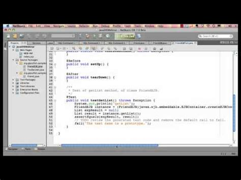 tutorial java ee netbeans netbeans config for java ee persistence glass fish ser
