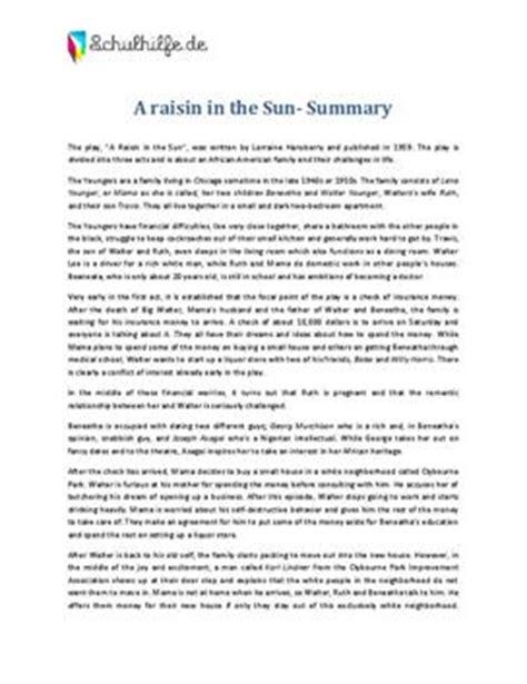A Raisin In The Sun Essays by Raisin In The Sun Essay Assignment