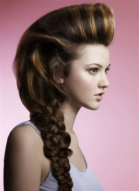 awesome hairstyles images cool prom hairstyles