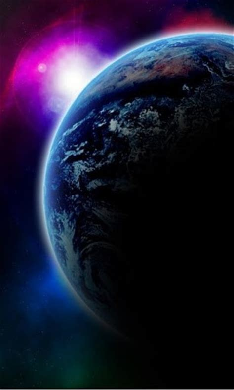 earth view wallpaper for android earth space live wallpaper app for android