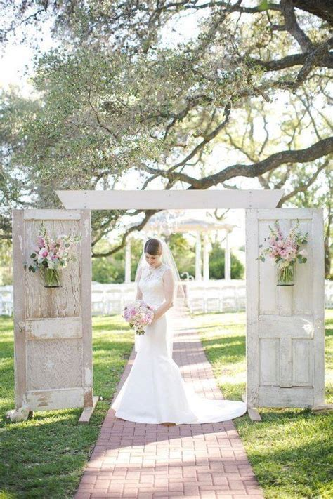 rustic door wedding decor ideas love outdoor